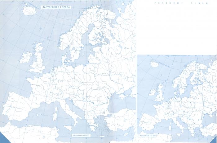 Карта Западной Европы Для Gps
